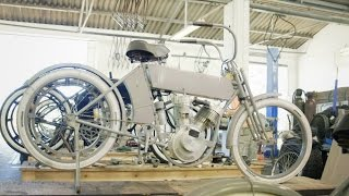 Recreating the World's Earliest Motorcycles