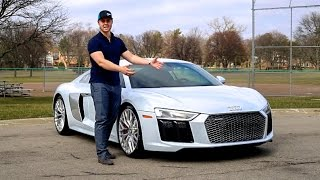 2017 Audi R8 V10 Review! - Is It TOO REFINED?