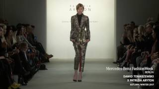 DAWID TOMASZEWSKI X PATRIZIA ARYTON - MERCEDES-BENZ FASHION WEEK BERLIN AW17
